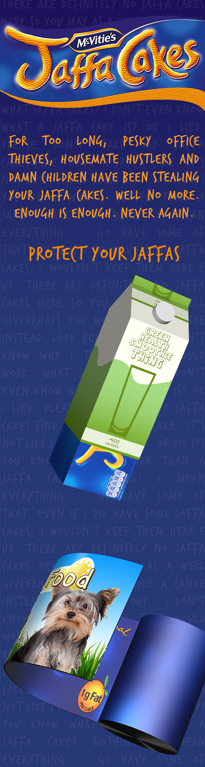 Jaffa packaging